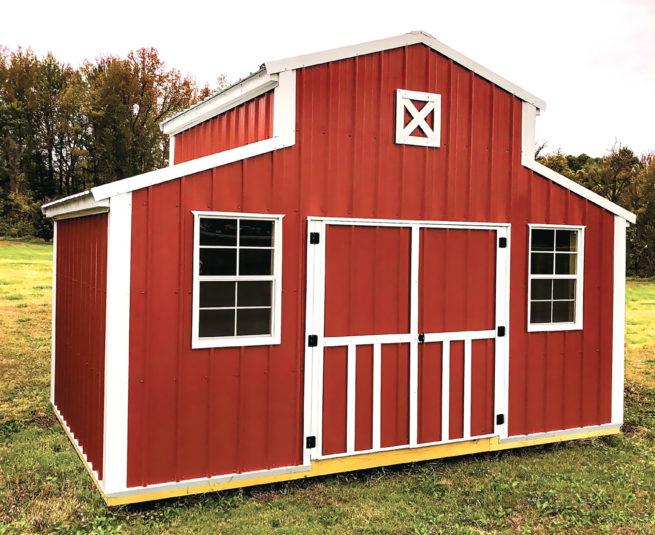 prefab shed