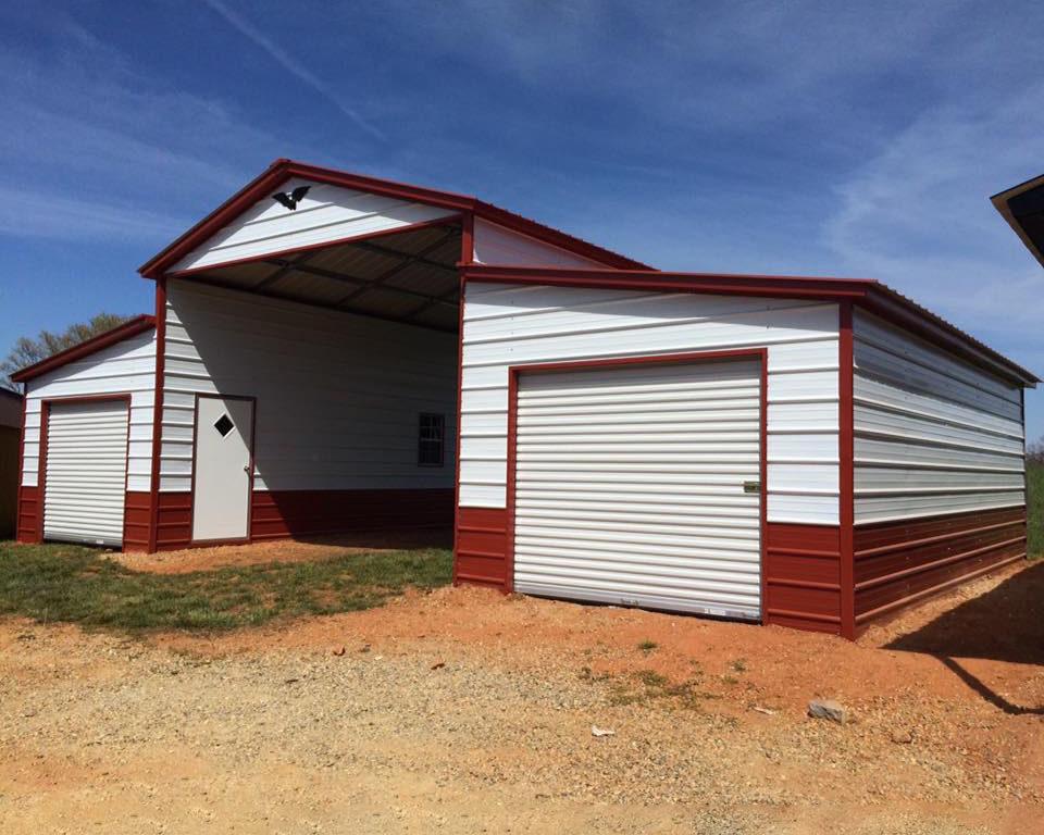 metal buildings barns