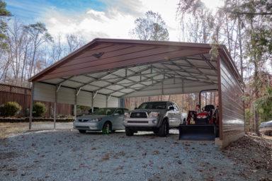 high metal carport