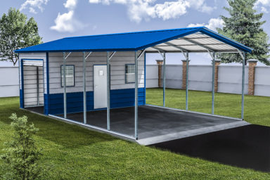 metal carport storage