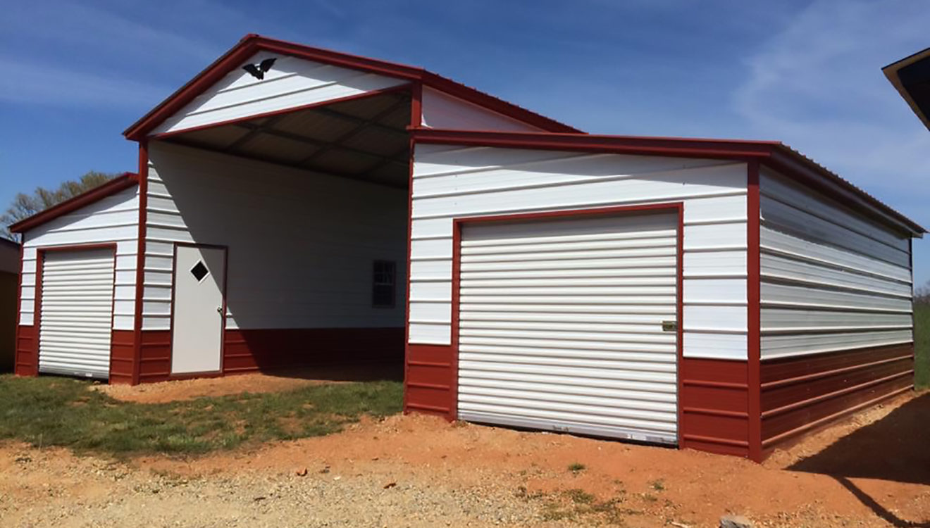 Metal Barns Protect Your Livestock And Equipment Low Maintenance