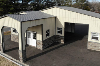 metal garage carport
