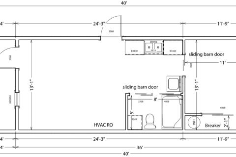 14x40 1 bedroom