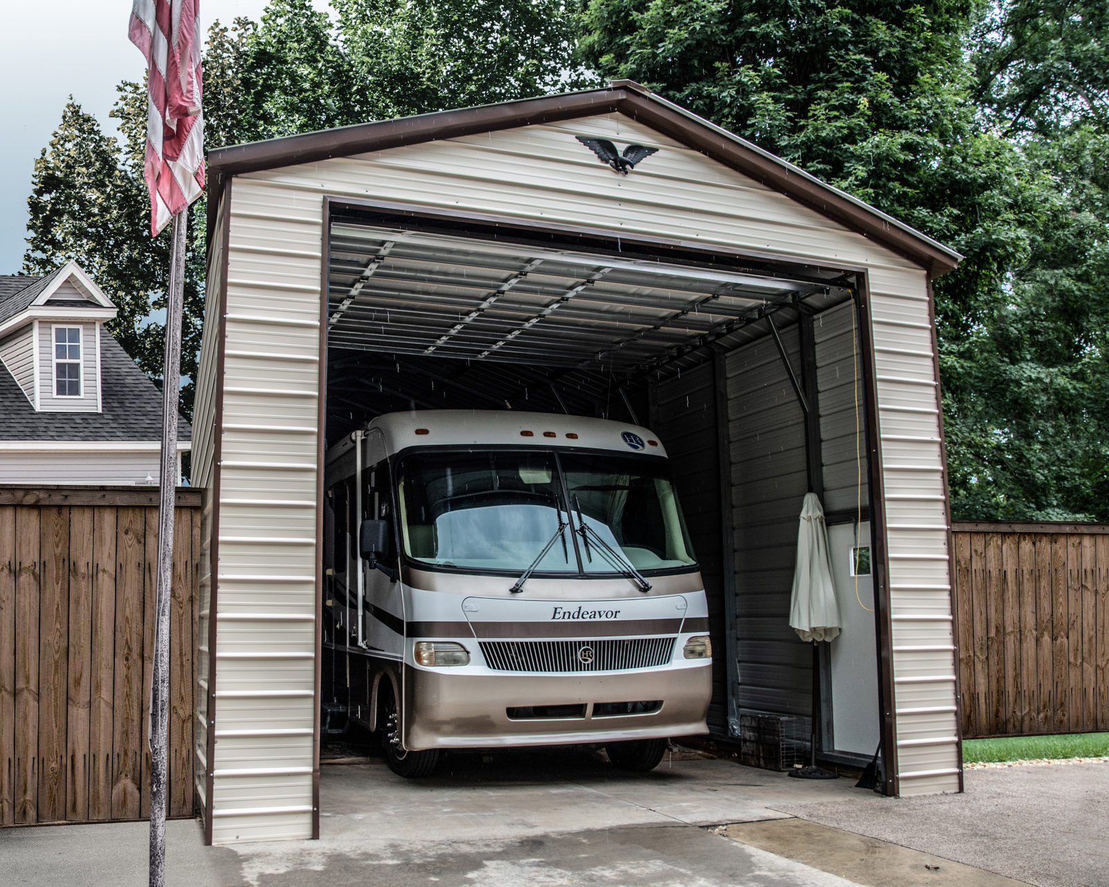 advance missouri rv carport