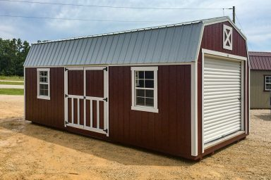 missouri lofted barn garage