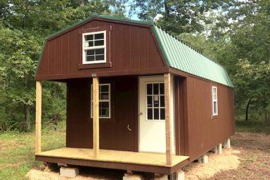 missouri lofted barn cabin