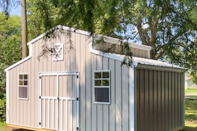 prefab shed metal barn