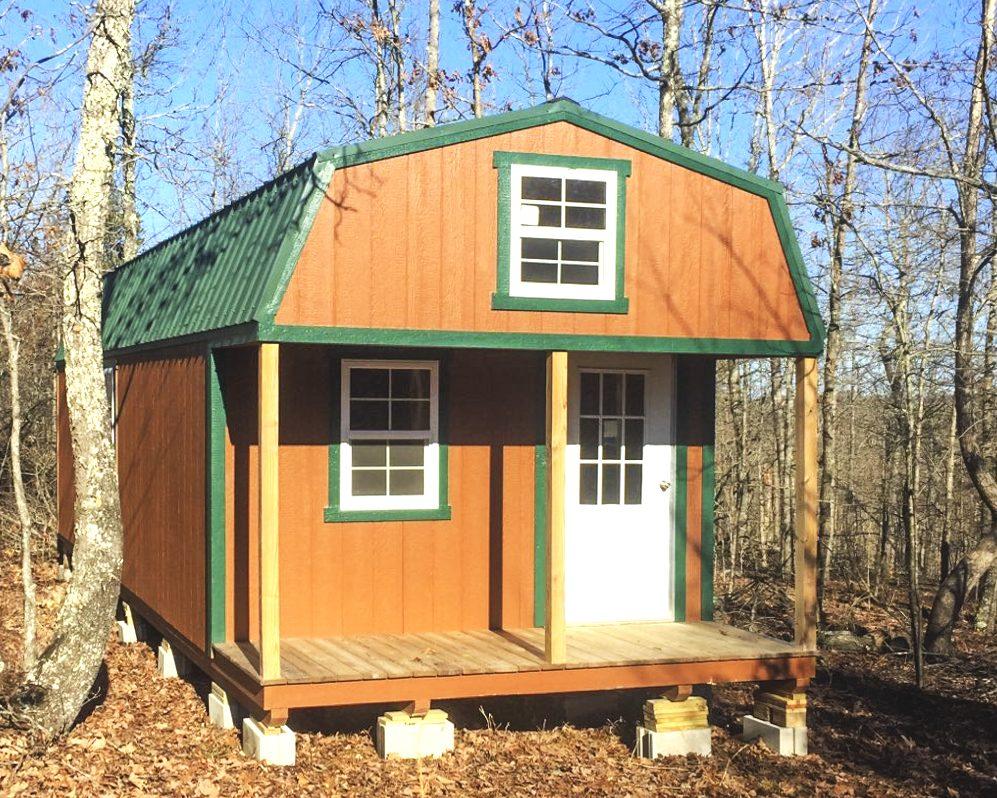 prefab hunting cabins