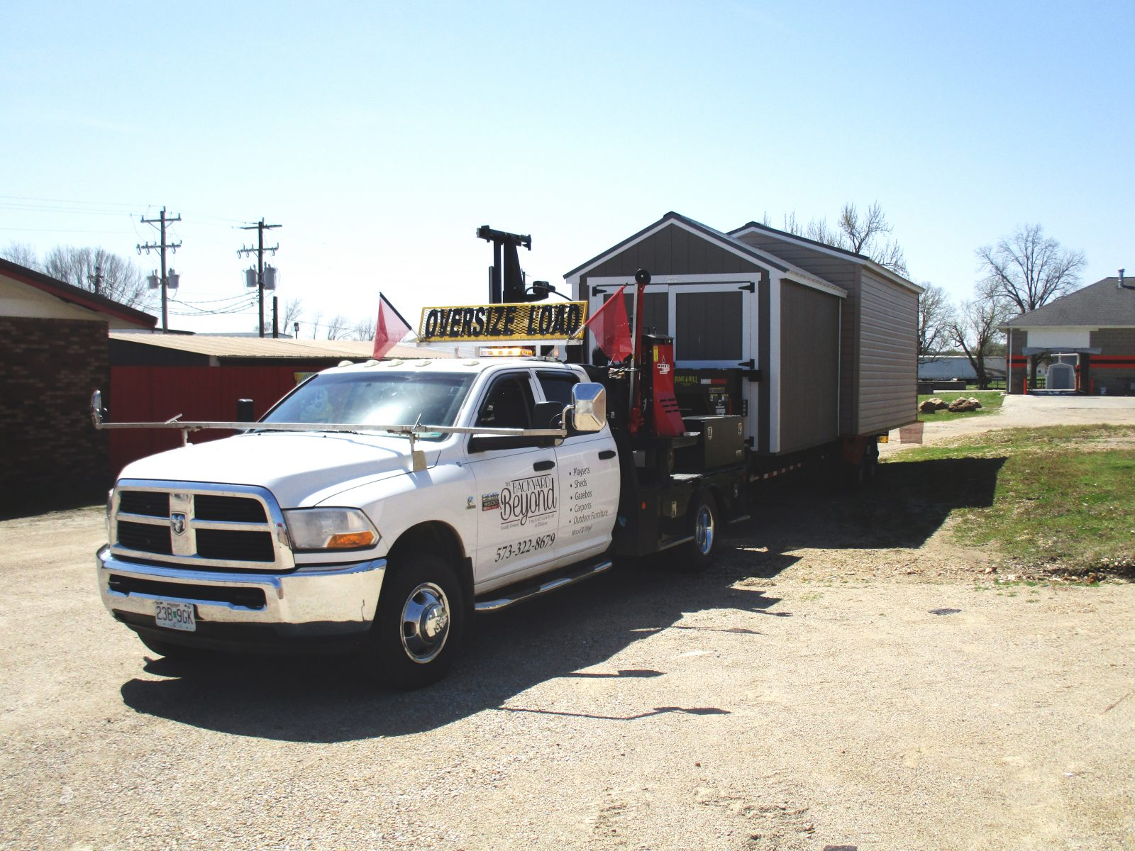 10x20 portable garage delivery