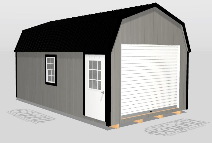 3d 12x20 portable garage