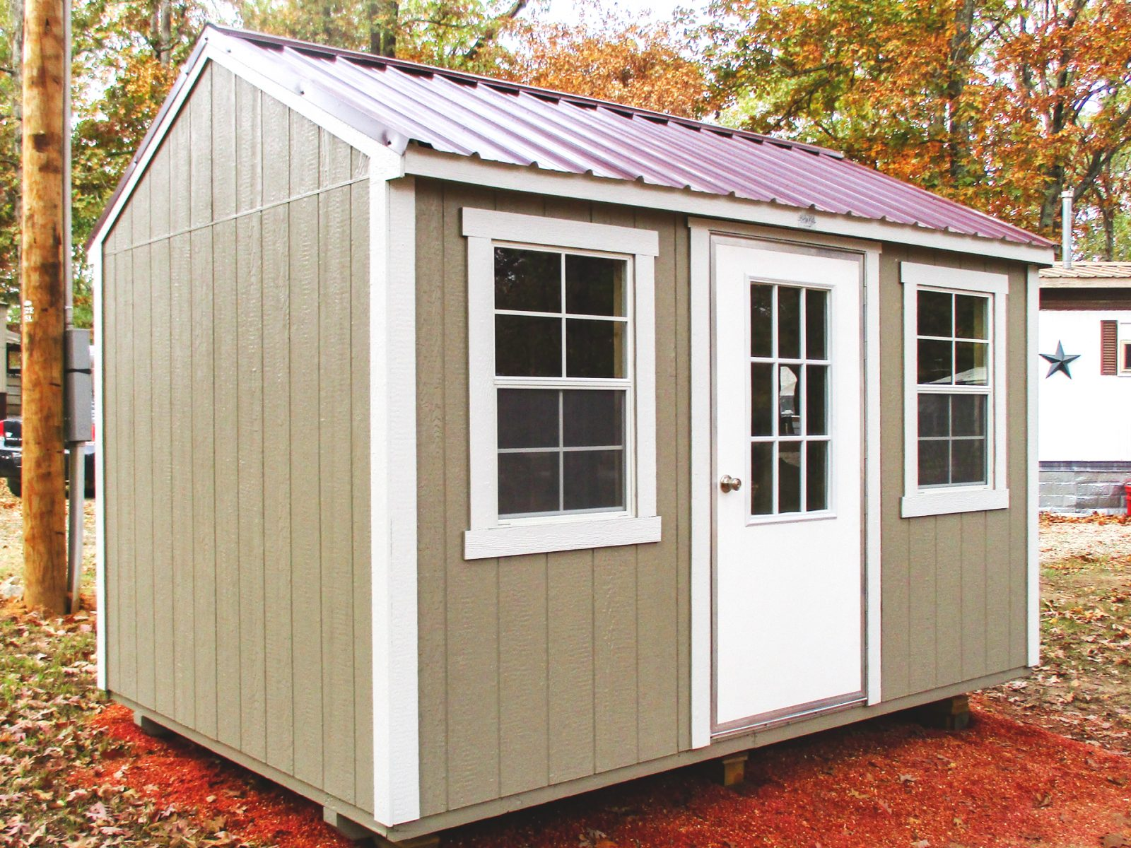 side utility shed for sale