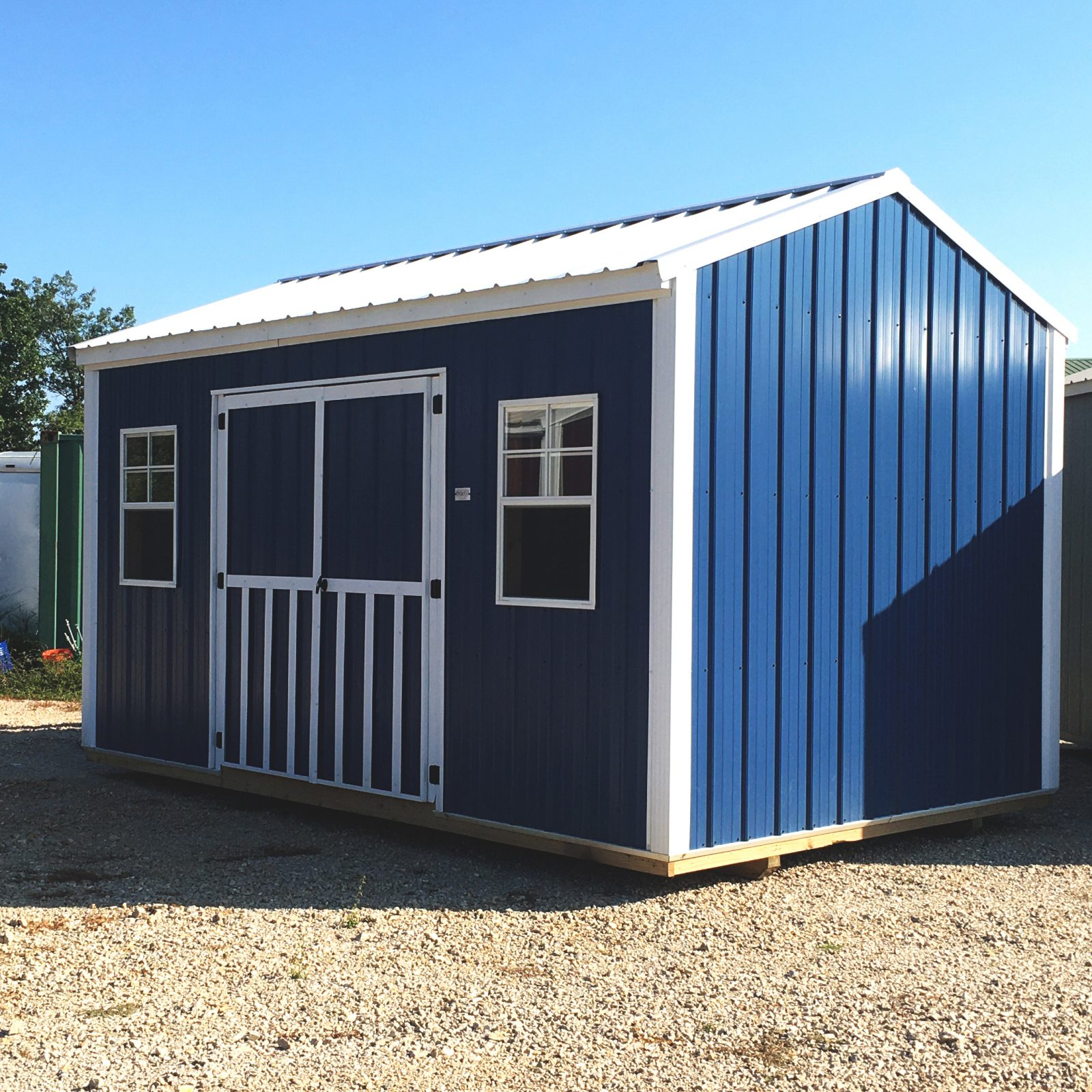 side utility shed in mo