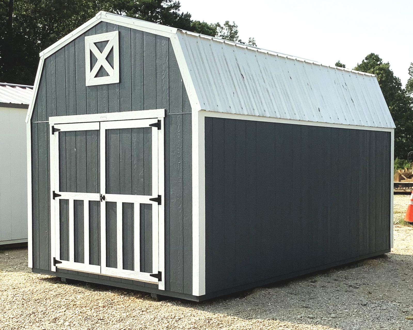 lofted barn shed