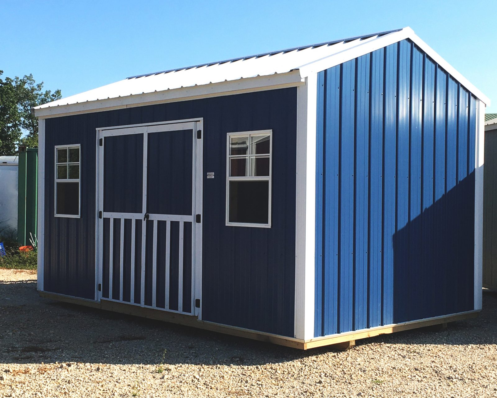side utility shed for sale in mo