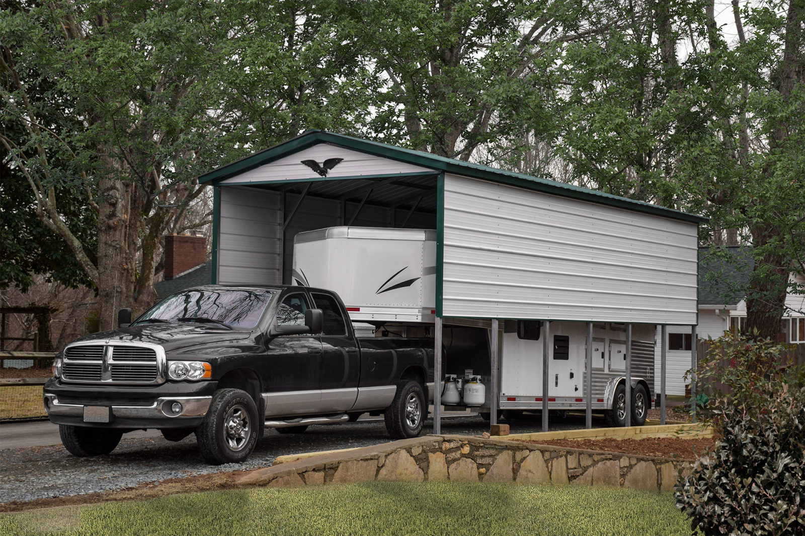 Metal Rv Carports Protect Your Rv From The Weather