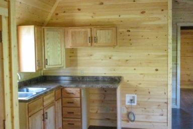 missouri cabin interior